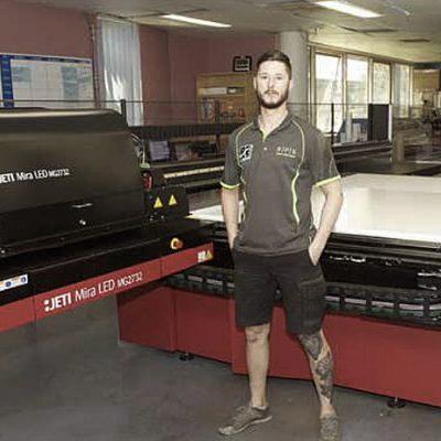 Jeti Mira and Jeti Ceres LED Printers