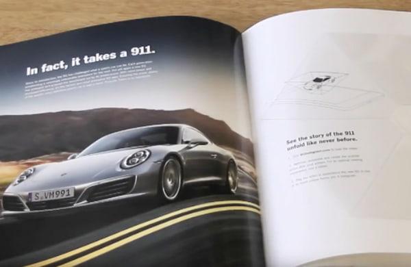 Porsche Print Ad