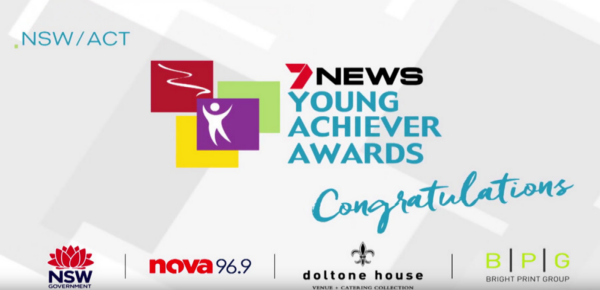 Seven News Young Achiever Awards NSWACT