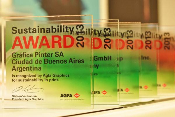Sustainability award 2013