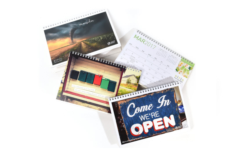 Different designs of calendar