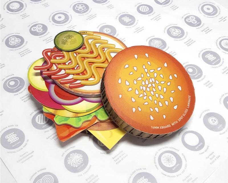 Logo of a burger