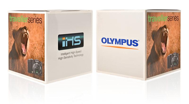 Box of Olympus camera
